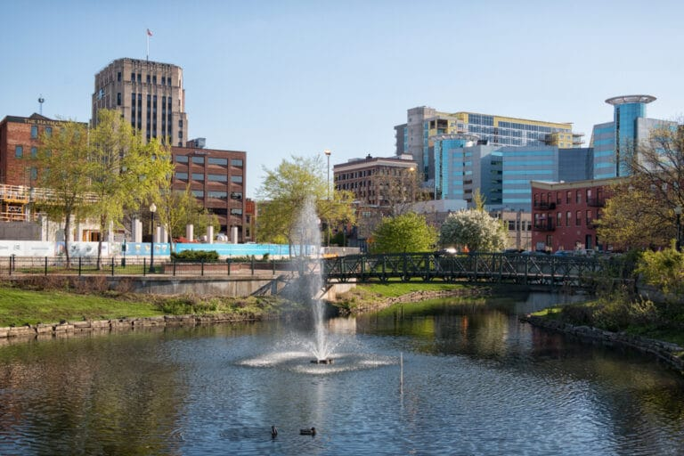 Walk around and explore all the great shopping, eating, and drinking in downtown! It's one of our favorite things to do in kalamazoo.